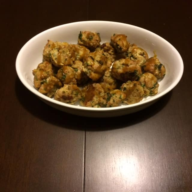 Naked Truth Recipe- GF Honey Mustard Curried Meatballs