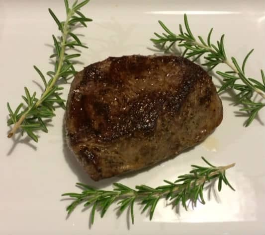Naked Truth Recipe: Seared Pan Roasted Steak